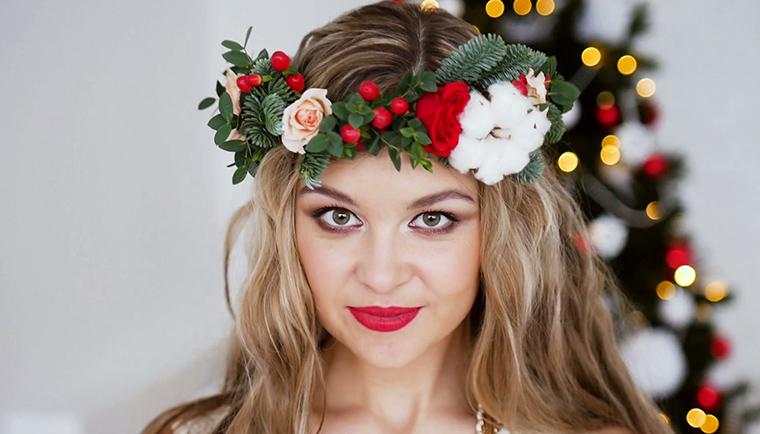 Ako byť krásna pri vianočnom stole