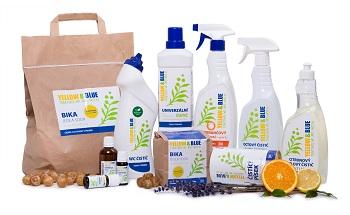 Ako upratovať zdravo, ekologicky a voňavo s YELLOW & BLUE