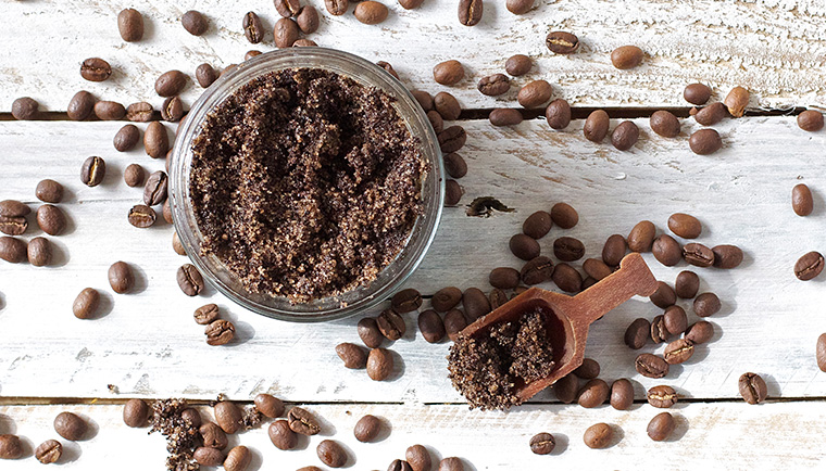 Domáce kávové masky - vyskúšajte ich silu