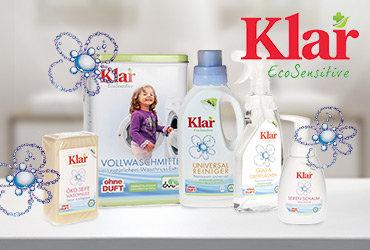 KLAR EcoSensitive - Ďalší BIO pomocník do vašej domácnosti