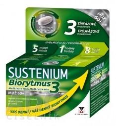 SUSTENIUM Biorytmus 3 multivitamín MUŽ 60+ tbl 1x30 ks