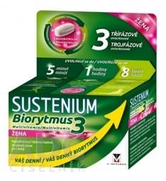 SUSTENIUM Biorytmus 3 multivitamín ŽENA