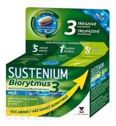 SUSTENIUM Biorytmus 3 multivitamín MUŽ tbl 1x30 ks