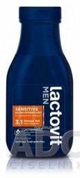 Lactovit MEN SENSITIVE 3v1 Sprchový gél ultra hydratujúci 1x300 ml