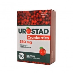 UROSTAD Cranberries cps 1x30 ks