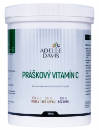 Adelle Davis - Vitamín C, práškový, 1 kg