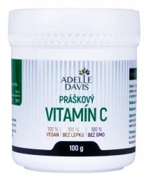 Adelle Davis - Vitamín C, práškový, 100g