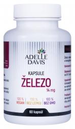 Adelle Davis - Železo, kapsule, 14 mg
