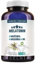 Pharma Activ MELATONIN + Mučenka + Meduňka + B6