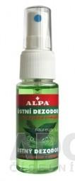 ALPA DENT ÚSTNY DEZODORANT s mätou a eukalyptom, zelený 1x30 ml