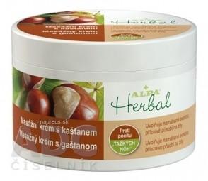 ALPA Herbal Masážny krém s gaštanom 1x250 ml