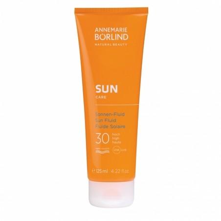 Opaľovacie fluid proti slnečným alergiám SPF 30