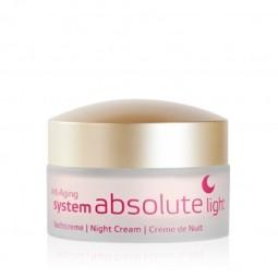 Nočný krém Light anti-aging system absolute