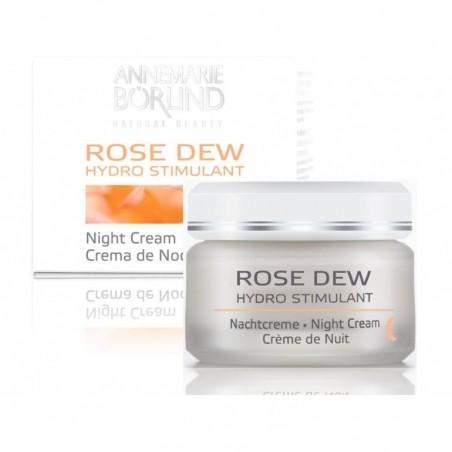 Nočný krém na suchú pleť ROSE DEW