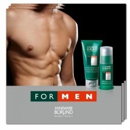 FOR MEN -  Revitalizačný krém + Balzam po holení - VZORKA