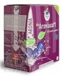 Bio Aronia džús (Aroniasaft) 100% priamo lisovaná šťava, kartón s výčapným ventilom 1x3 l