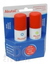 Akutol duo pack Akutol sprej 60 ml + Akutol stop sprej 60 ml, 1x1 set