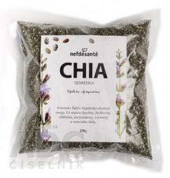 nefdesanté CHIA semienka semená Šalvie (Salvia Hispanica) 1x250 g