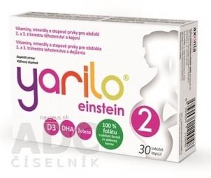 YARILO einstein 2 cps (2.,3. trimester tehotenstva a dojčenie) 1x30 ks