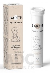 BART´S POTTY TABS - tablety do nočníka 1x20 ks