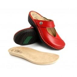 *Batz dámske zdravotné šľapky Bali Red 36