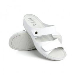 *Batz dámske zdravotné šľapky FC06 White 37