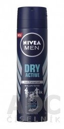 NIVEA MEN ANTI-PERSPIRANT DRY ACTIVE sprej 1x150 ml