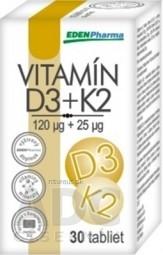EDENPharma VITAMÍN D3 + K2