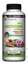 BIO Pharma Multivitamín s minerálmi IMUNITA+