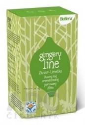 Biogena GINGERY line Zázvor & Limetka čaj 20x2 g (40 g)