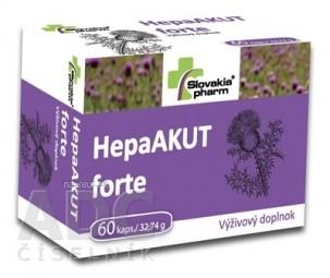 Slovakiapharm HepaAKUT forte cps 1x60 ks