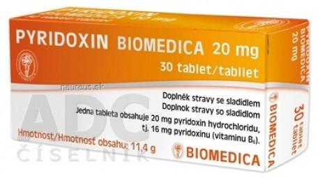 PYRIDOXIN BIOMEDICA 20 mg