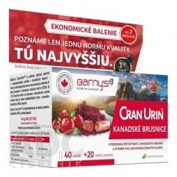 Barny's CRAN-URIN KANADSKÉ BRUSNICE cps 40+20 zadarmo (60 ks)