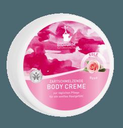 Telový krém s vôňou ruží
