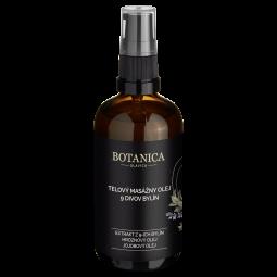 Telový masážny olej 9 divov bylín