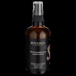 Telový masážny olej 9 divov kvetov