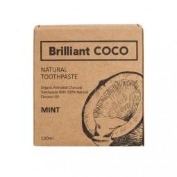 Brilliant COCO zubná pasta ZERO WASTE