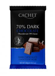 CACHET čokoláda horká 70% 300g