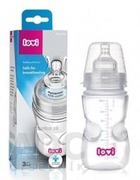 LOVI fľaša Medical+ Aktívne satie Super vent 330ml