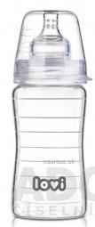 LOVI fľaša Diamond Glass 250 ml