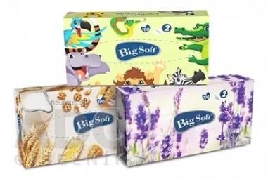 Big Soft deluxe BOX vreckovky hygienické 1x100 ks