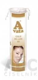 A vata GOLD DE LUXE kozmetické tampóny 1x80 ks
