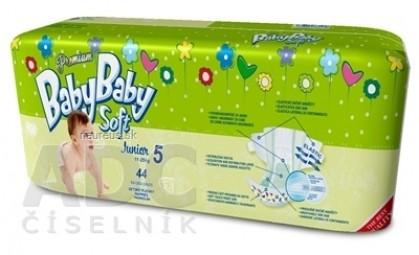 BabyBaby Soft Premium Junior 12-25kg detské plienky 1x44 ks