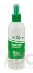 TOP GOLD Deodorant s chlorofylom+Tea Tree Oil sprej 1x150 g