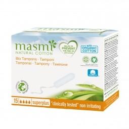 Tampóny z organickej bavlny Super Plus MASMA