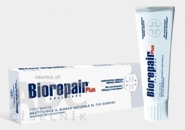 BIOREPAIR PLUS PRO WHITE zubná pasta