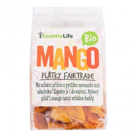 Mango plátky sušené 80 g BIO