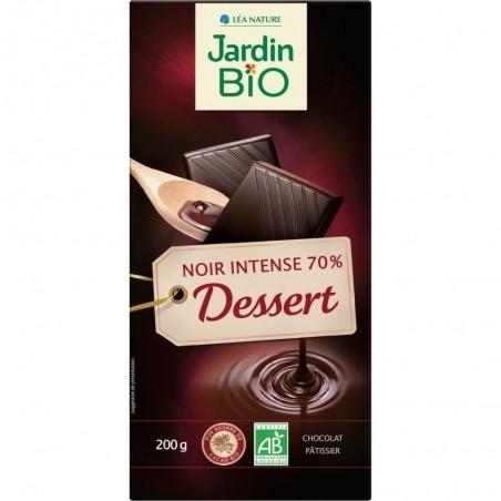 Čokoláda na varenie tmavá 70% 200 g BIO JARDIN BIO
