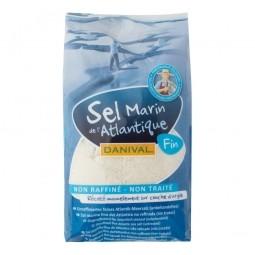 Soľ morská jemná 1 kg DANIVAL