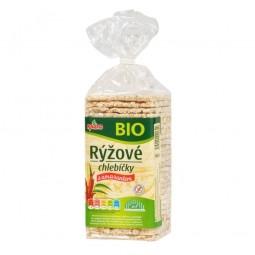 Chlebíčky ryžové s amarantom bezlepkové 140 g BIO RACIO